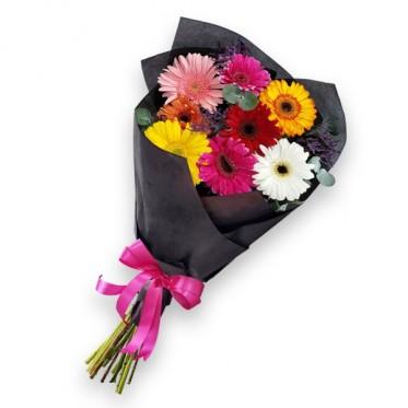 Bouquet de 8 gerberas