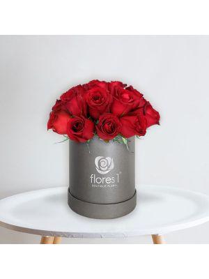 18 Rosas Rojas en Caja