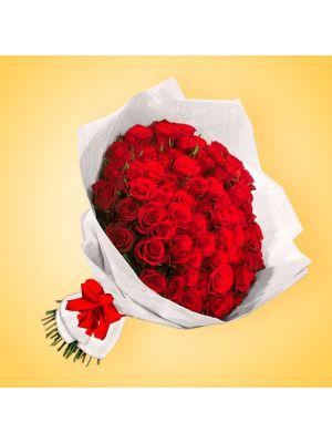 Bouquet de 100 rosas