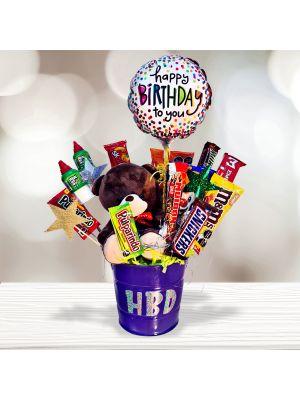 HBD Candy Bucket
